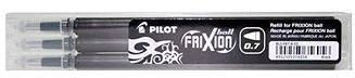 PILOT Frixion 0.7/ 0.35mm černá 3ks