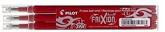PILOT Frixion 0.7/0.35mm červená 3ks