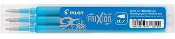 PILOT Frixion 0.7/0.35mm světle modrá 3ks