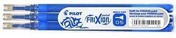 PILOT Frixion Point 0.5/0.25mm modrá 3ks