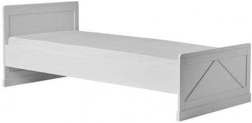Biela detská posteľ Pinio Marie, 200 × 90 cm