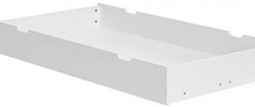 Biely úložný priestor pod detskú postieľku Pinio Calmo, 140×70cm