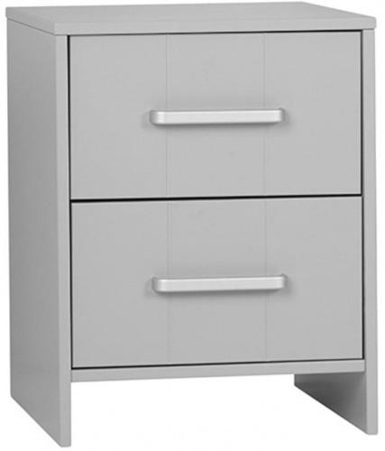 Sivá skrinka k pracovnému stoluPinioCalmo