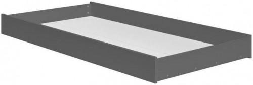 Tmavosivá zásuvka pod detskú posteľ Pinio Snap