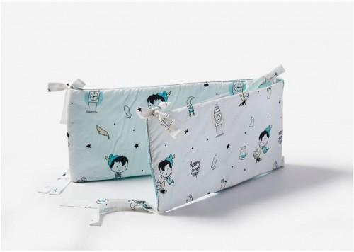 Zábrana do detskej postieľky Pinio Peter Pan, 180 × 27 cm