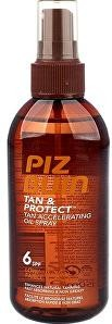 Piz Buin Ochranný olej v spreji urýchľujúci proces opaľovanie Tan & Protect SPF 6 (Tan Accelerating Oil Spray) 150 ml