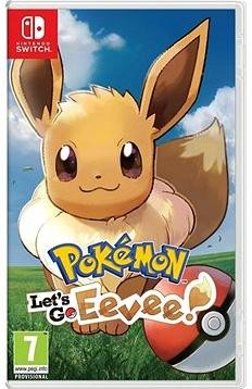 Pokémon Lets Go Eevee! - Nintendo Switch