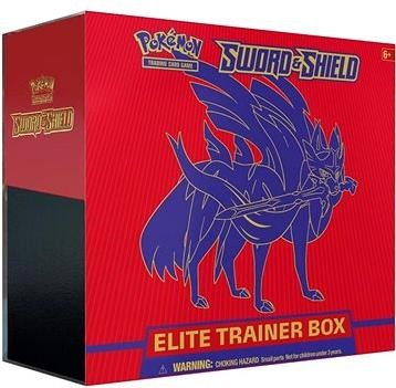 Pokémon TCG: Sword and Shield Elite Trainer Box