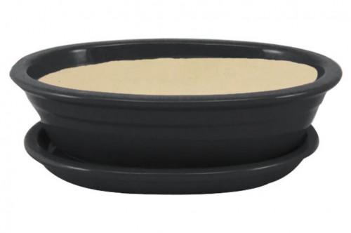 Keramická misa Bonsai antracit 4 veľkosti