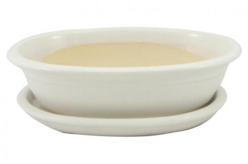 Keramická misa Bonsai biela 4 veľkosti