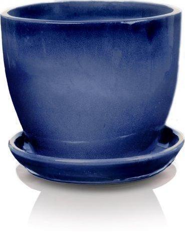 Keramický kvetináč Jena kobalt 5 veľkostí