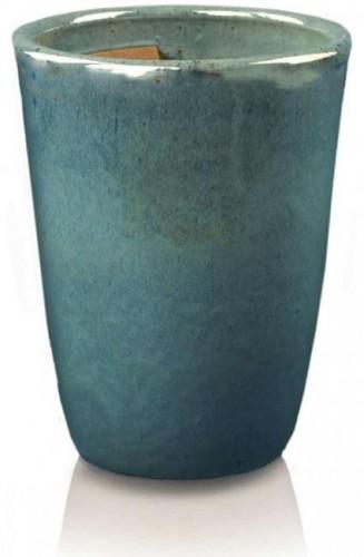 Keramický kvetináč Wiet urn azure 2 veľkosti