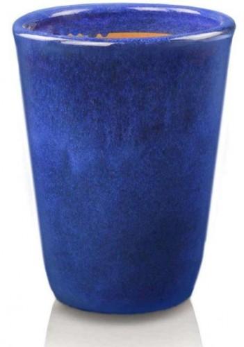 Keramický kvetináč Wiet urn kobalt 2 veľkosti