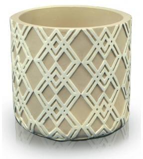 Keramický obal Etno cream 14 cm
