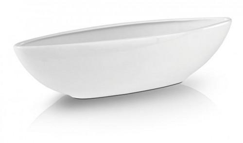 Keramický obal Piano loďka biely