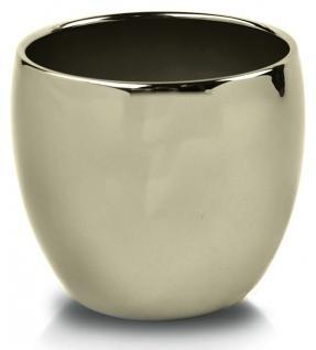 Keramický obal Piano round zlatý 11 cm