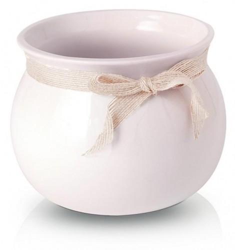 Keramický obal Smooth pink 14 - 17 cm