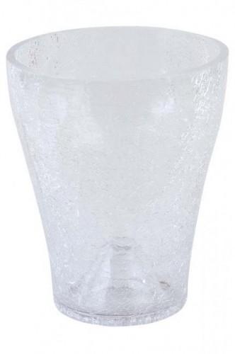 Obaly crackle sklo Biele