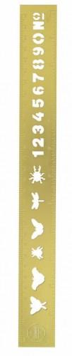 Pravítko v zlatej farbe Portico Designs Ruler