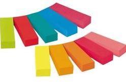 Samolepiace záložky - prúžky Post-it 670-10AB, (š x v) 12.7 mm x 44.4 mm, 1 ks