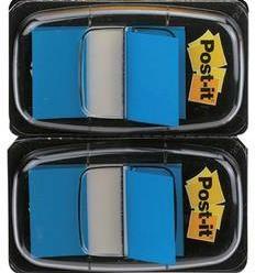 Samolepiace záložky - prúžky Post-it 680-BE2, 1 ks