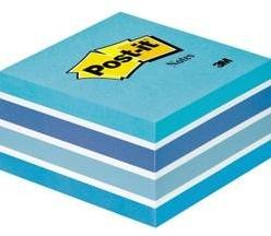 Samolepiaci blok Post-it 2028B, (š x v) 76 mm x 45 mm, pastelová modrá, 450 listov
