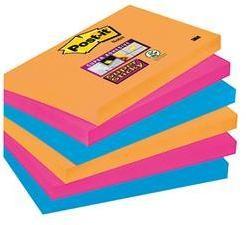 Samolepiaci blok Post-it 6556SE, (š x v) 127 mm x 76 mm, neónovo oranžová, ultra modrá, ultra ružová, 540 listov