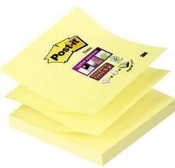 Samolepiaci blok Post-it 7000048167, (š x v) 76 mm x 76 mm, žltá, 90 listov