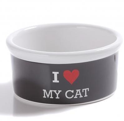 Miska I LOVE MY CAT pre mačky