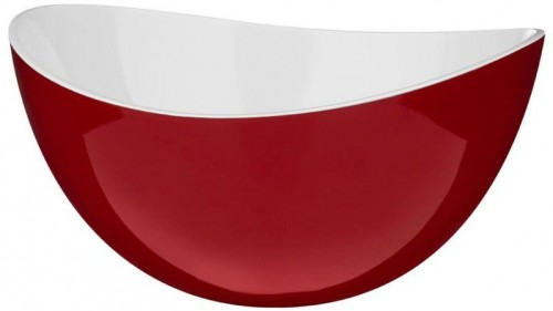 Červená plastová miska Premier Housewares