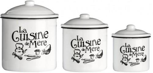 Sada 3 dóz Premier Housewares La Cuisine De Mere