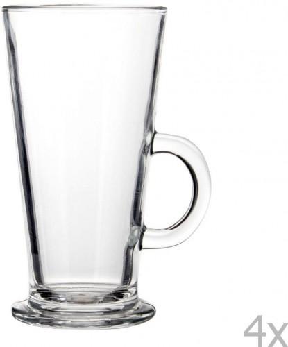 Sada 4 pohárov na latté Premier Housewares, 250 ml