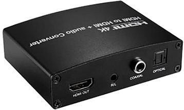 PremiumCord HDMI 4K opakovač s oddělením audia