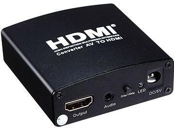 PremiumCord převodník AV signálu a zvuku na HDMI