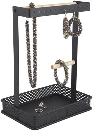 PRESENT TIME Čierny stojan na šperky Merge