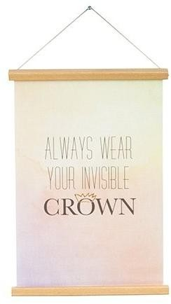 PRESENT TIME Plagát – Always Wear Your Invisible Crown