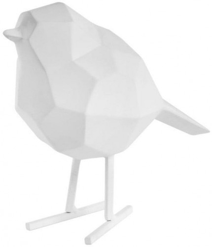 Biela dekoratívna soška PT LIVING Bird Small Statue