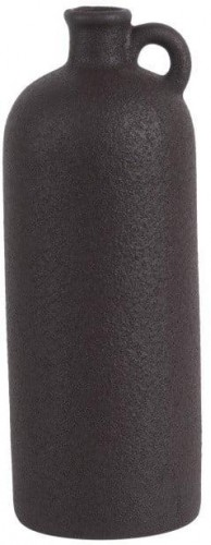 Čierna keramická váza PT LIVING Burly, výška 27 cm