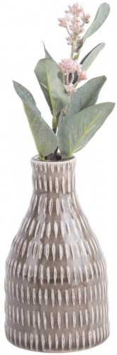 Hnedá váza PT LIVING Nostalgia, výška 16 cm
