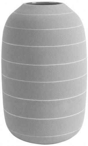 Svetlosivá keramická váza PT LIVING Terra, ⌀ 16 cm