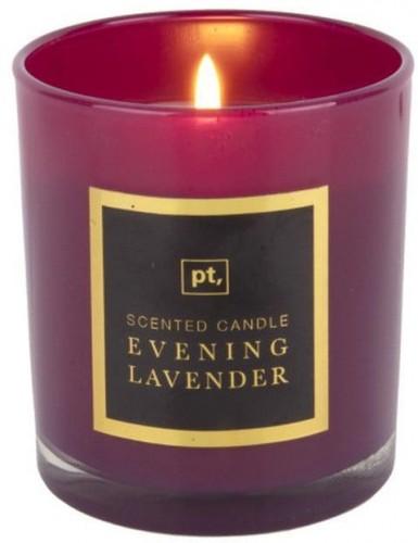 Sviečka s vôňou levandule PT LIVING Scented Candle, doba horenia 35hodín