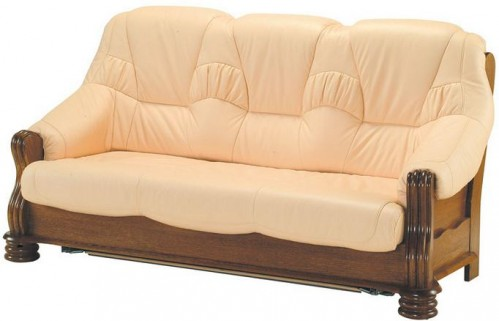 Pyka Kožená sedacia súprava ADAM Prevedenie: 3-sed / s rozkladom 3R