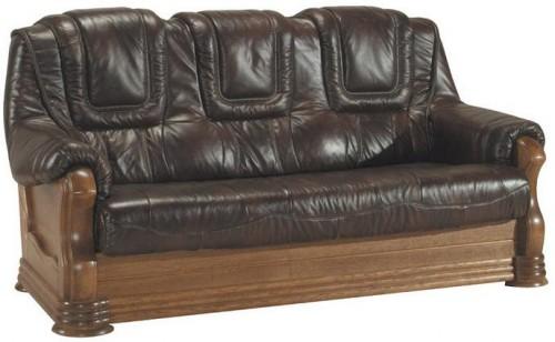 Pyka Kožená sedacia súprava ANETA II Prevedenie: 3-sed / s rozkladom 3R