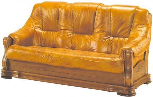 Pyka Kožená sedacia súprava BOZENA Prevedenie: 3-sed / s rozkladom 3R