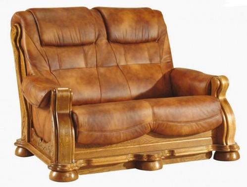 Pyka Kožená sedacia súprava CEZAR II Prevedenie: 2-sed