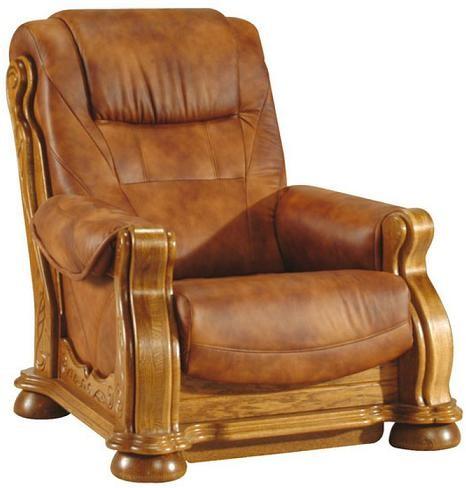 Pyka Kožená sedacia súprava CEZAR II Prevedenie: Kreslo