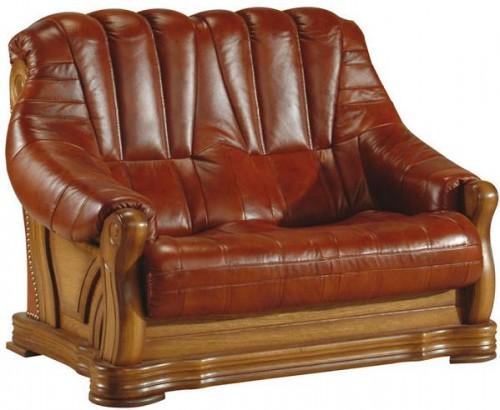 Pyka Kožená sedacia súprava FRYDERYK II Prevedenie: 2-sed