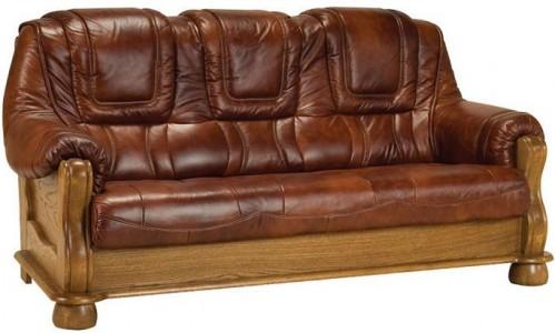 Pyka Kožená sedacia súprava ROMA Prevedenie: 3-sed / s rozkladom