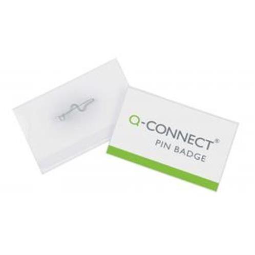 Visačka so špendlíkom Q-Connect 75x40mm 100ks QC001566