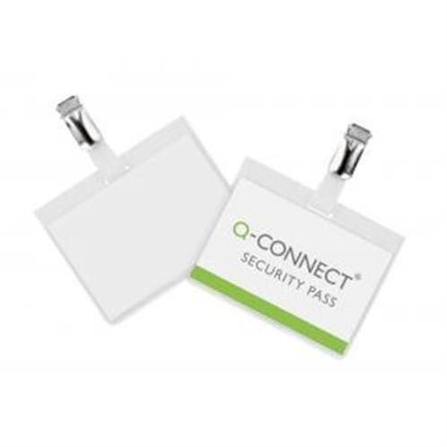 Visačka so štipcom zatvorená Q-Connect 90x60mm 25ks QC001562